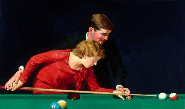 "Highlights from Rau include Norman Rockwell's ""Billiards is Easy to Learn"" ($1,450,000)."
