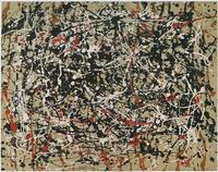 A work once exhibited as a Jackson Pollock that an independent art research group refused to authenticate over questions about the provenance.