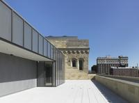 Yale University Art Gallery, Old Yale Art Gallery building, view of the Margaret and Angus Wurtele Sculpture Terrace prior to installation.