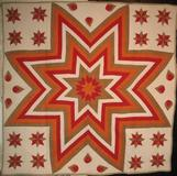 Aunt Eliza's Star quilt from Fisher Heritage.