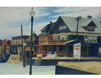 "Edward Hopper's ""East Wind Over Weehawken"" which sold Dec.  5, 2013 by Christie's for $40.5 million - a new auction record for the artist."