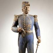 American Folk Trade Carving of Admiral George Dewey, circa 1898