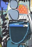 Artist C.  Dianne Zweig exhibiting at Street Chic, June 4th-June 20th, Bodytalk Boutique, Avon, CT