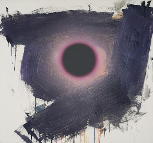 Dan Christensen (1942-2007), Dolby, 1998, Acrylic on canvas, 65 x 70 inches.
