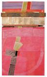 "Bruce Dorfman, ""Sash For All Time"", 2007, Mixed media, 67 x 40 x 4 inches"