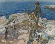 A Summer Walk by Dorothea Sharp
