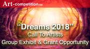 "New Art Call: ""Dreams 2018,"" an exhibiting and art grant opportunity at Gallery 25N"
