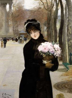 Ernest Ange Duez's 1883 work Une Parisienne, £60,000-80,000.