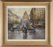 Oil on Canvas by Edouard Cortes (Fr., 1882-1969), The Pantheon ($25,000)