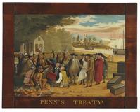Edward Hicks (1780-1849), Penn's Treaty, oil on canvas
