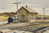 Edward Hopper's Toward Boston, 1936, from Hirschl & Adler.