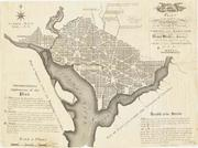 Andrew Ellicott, Plan of the City of Washington in the Territory of Columbia.  Philadelphia, 1792.  Image courtesy of Harvard Map Collection.