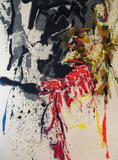 Ernest Briggs, Untitled, o/c, 1958, 94 x 69 1/2 in