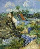 Houses at Auvers, 1890, Vincent van Gogh