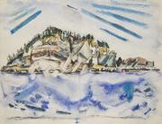 John Marin, United States, 1870 - 1953 Island (Ship's Stern), 1934, watercolor on paper, 17 x 22 inches.  Private collection, courtesy Meredith Ward Fine Art, New York.  © Estate of John Marin / Artists Rights Society (ARS), New York