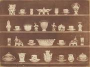William Henry Fox Talbot (British, 1800-1877),Articles of China, ca.  1843, printed ca.  1845.  Salted paper print from calotype negative.  Collection of Richard and Ronay Menschel.