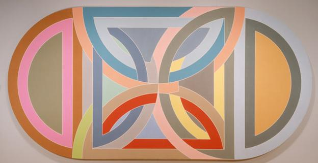 Frank Stella, Hiragla Variation I, 1969, Los Angeles County Museum of Art, Museum Purchase with Museum Associates Acquisitions Fund, © Frank Stella/Artists Rights Society (ARS) New York, photo © Museum Associates/LACMA
