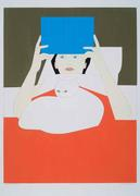 """Woman Reading,"" by Will Barnet, screenprint (1970)"