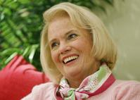 The late Palm Beach fashion designer Lilly Pulitzer