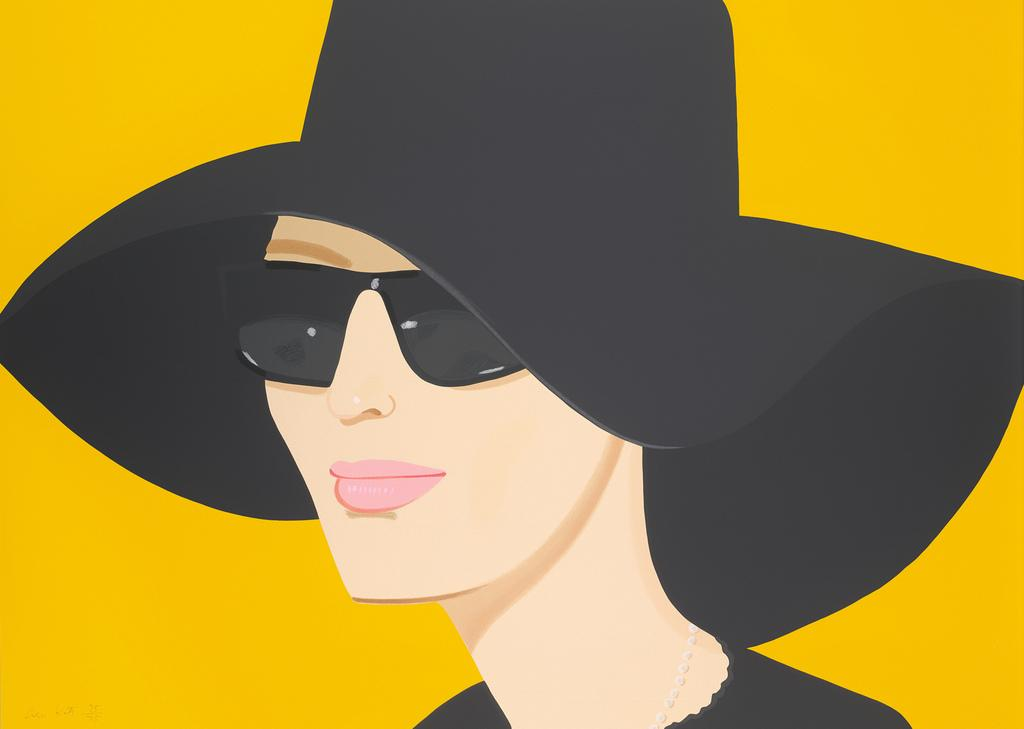 Ulla in Black Hat, 2010 Alex Katz (American, born in 1927) Printed by: Robert Blanton and Steven Sangenario, Brand X Editions, Inc., New York.  Published by: Robert Blanton and Christine Neptune, Brand X Editions, Inc., New York.  Screenprint.  Promised Gift of Alex Katz.  © 2012 Alex Katz/Licensed by VAGA, New York, NY.  Courtesy Museum of Fine Arts, Boston