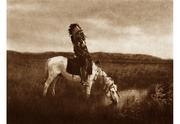 Edward S.  Curtis, An Oasis in the Badlands, 1905