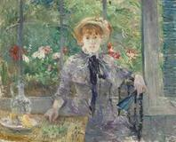 Berthe Morisot (1841-1895) Après le déjeuner brought £6,985,250 ($10,924,931) at Christie's on Feb.  6, 2013.