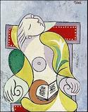 Pablo Picasso's 1932 painting, La Lecture, depicting Marie-Therese Walter, has sold for 25.2 million pounds ($40.7 million) at a Sotheby's London auction on Feb.  8.