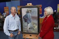 Colleene Fesko appraises a rare Diego Rivera