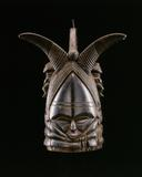 Bundu mask, Sowei society Mende people, Sierre Leone Used in the initiation ceremony for a girl entering womanhood