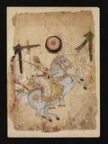 An Equestrian Portrait perhaps depicting Ikhlas Khan Golconda, India, circa 1680