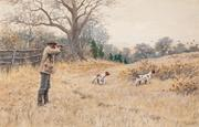"A.B.  Frost's ""Quail - A Covey Rise,"" sold for $180,000"