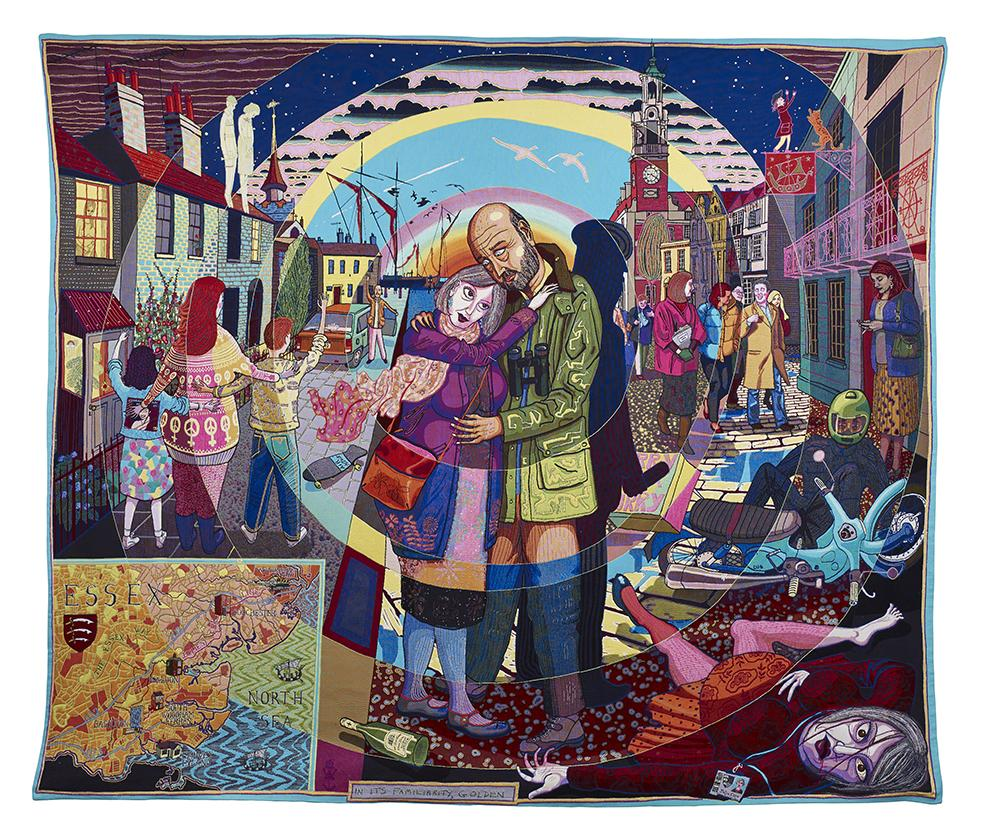 Grayson Perry, In its Familiarity Golden, 2015