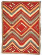 This extra-fine Navajo Germantown weave rug will be sold at auction Nov.  9-10 by Allard Auctions in Mesa, Ariz.