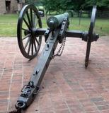 This cannon, fired by Union soldiers at the Battle of Gettysburg, will be sold Oct.  12.