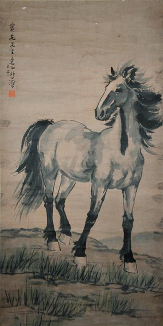 Horse by Xu Beihong.  Gianguan Auctions, December 12 sale.