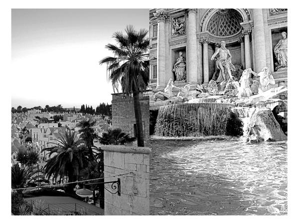 "Giovanni Armenio, A.  To Rome IV, Photograph on Fine Art Paper, 15"" x 21"""