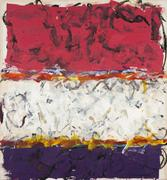"Michael Goldberg (1924-2007), Untitled (2/05-S), 2005, oil and oil stick on canvas, 78"" x 73 7/8"", signed and dated"