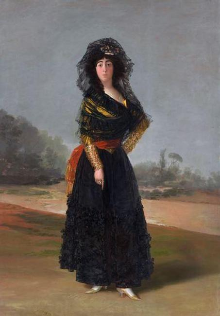 Francisco de Goya (1746–1828), The Duchess of Alba, 1797, oil on canvas, Courtesy of The Hispanic Society of America, New York, A102.
