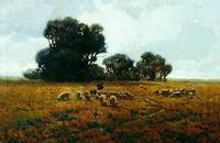 "Granville Redmond ""Grazing"" SOLD"