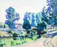 This original painting by French artist Jean-Baptiste Armand Guillaumin will be sold Feb.  23-24 in Florida.