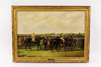 This original oil painting by the noted British artist John Frederick Herring, Sr.  (1795-1865) will be sold June 6-8 in Atlanta, Georgia.