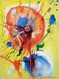 "Hans Hofmann (1880-1966), Pulsating Heart, c.1946, oil on canvasboard, 16"" x 12"", signed"