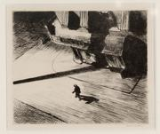 Edward Hopper (American, 1882–1967), Night Shadows, 1921, etching