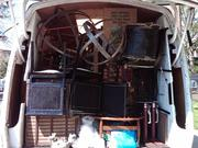 The truck packed for May Brimfield.  And to think, this was all in our apartment!