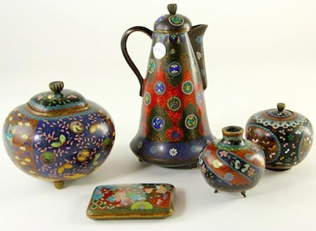 Collection of Cloisonne