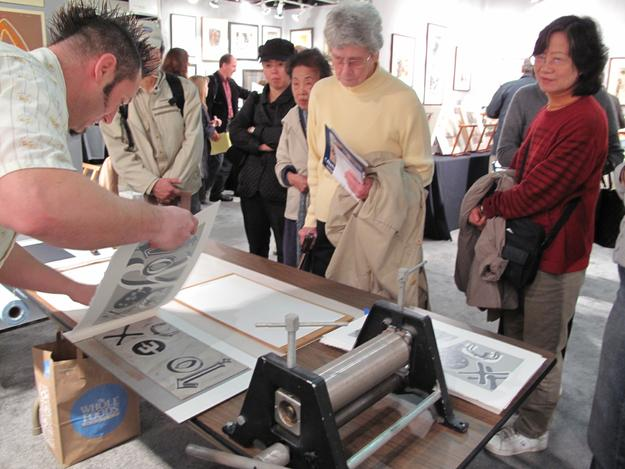 Print Making Demonstration