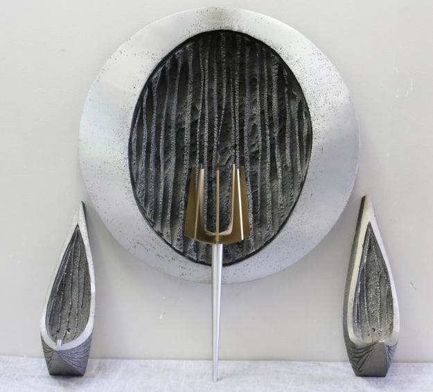 Magnificent Brutalist Sconce Lot