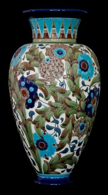 Burmantofts vase