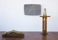 Left to right: Mountain, 1978; Cloud, 1959; The Mountain Core, 1978.  Photo by Katherine Abbott, Courtesy of The Noguchi Museum, New York