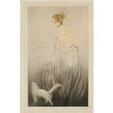 """Do Not Enter"" Louis Icart (French, 1890-1950) Etching and aquatint, 1922.  Signed and numbered 82, lower left.  To be offered at Ripley's Antique Helper Auctions on May 14."